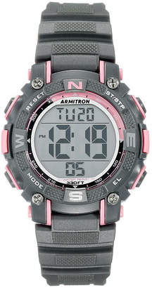 Armitron Prosport Mens Gray Strap Watch-45/7099pgy