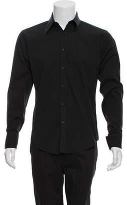 Saint Laurent French Cuff Button-Up Shirt