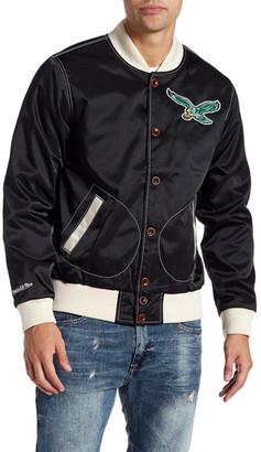 MITCHELL & NESS Satin Jacket $175 thestylecure.com