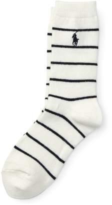 Ralph Lauren Striped Boot Socks