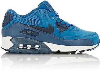 Nike Women's Air Max 90 Sneakers-NAVY $120 thestylecure.com