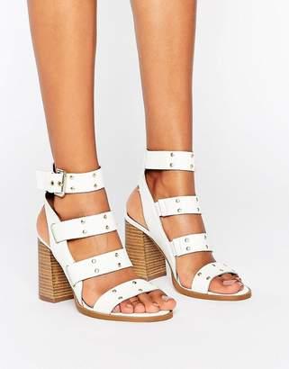 Asos TRIUMPHANT Leather Studded Sandals