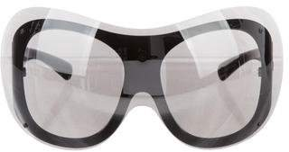 Chanel 2017 Shield Sunglasses