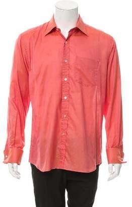 Paul Smith Colorblock Button-Up Shirt