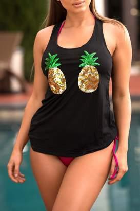 Chynna Dolls Pineapple Summer Tank