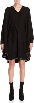 Philosophy di Lorenzo Serafini Poncho Sweater Dress