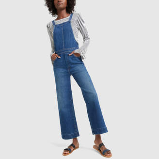 bb0dfebe3bf2 Mother The Greaser Overall Crop Jeans