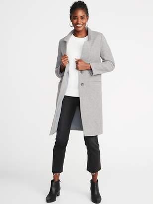 Old Navy Brushed-Knit Long-Line Coat for Women