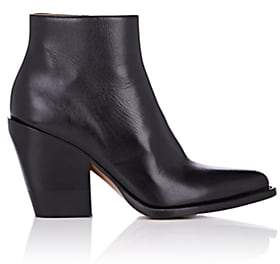 Chloé Women's Rylee Leather Ankle Boots - Black
