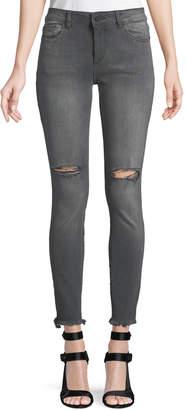 DL1961 Premium Denim Margaux Instasculpt Ankle Skinny Jeans, Gray