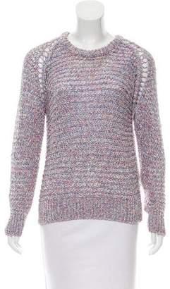 IRO Marled Open Knit Sweater