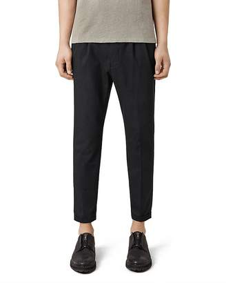 ALLSAINTS Tallis Slim Fit Trousers $230 thestylecure.com