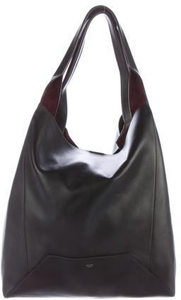 CelineCéline 2016 Medium Leather Shopper Tote
