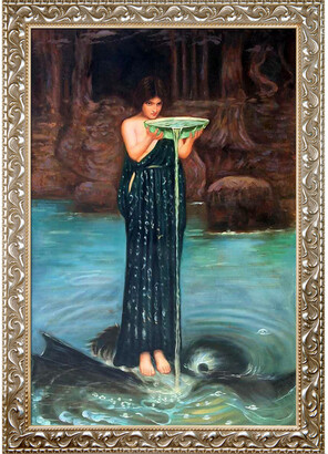 Circe Overstock Art Invidiosa By John William Waterhouse