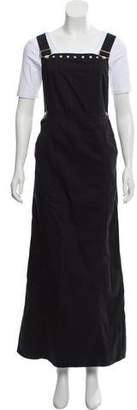 Philosophy di Alberta Ferretti Denim Overall Dress