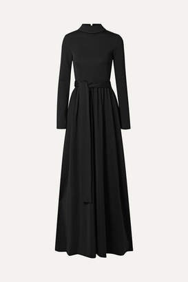 The Row Damico Ponte Gown - Black