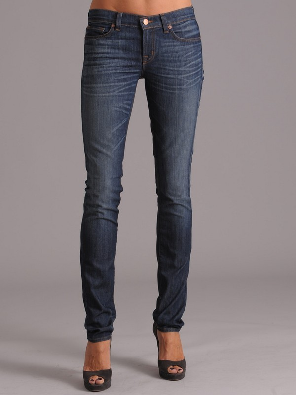 J Brand 912 Skinny Jean in Hightide
