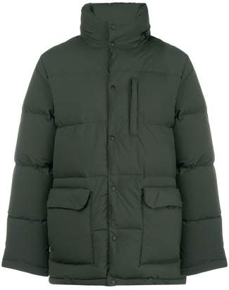 Aspesi hooded padded jacket