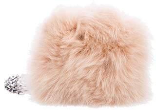 Michael Kors Hutton Fur Crossbody Bag