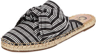 Sam Edelman Lulu Striped Espadrille Bow Mule