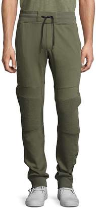 Madison Supply Men's Cotton-Blend Ankle-Zip Sweatpants