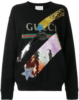 ad341006e91d Women's Sequin Sweatshirts - ShopStyle UK