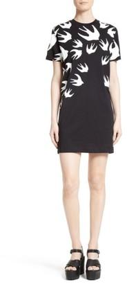 Women's Mcq Alexander Mcqueen Swallow T-Shirt Dress $210 thestylecure.com