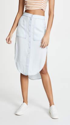 DL1961 White and Varet Skirt