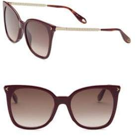 Givenchy 54MM Cat Eye Sunglasses