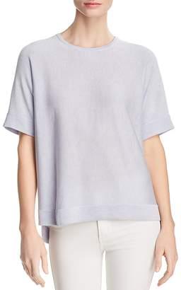 Eileen Fisher Lightweight Short-Sleeve Sweater