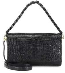 Nancy Gonzalez Crocodile Chain Crossbody Bag