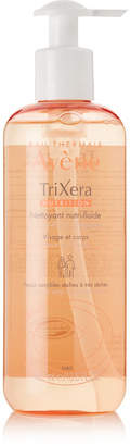 Avene Trixera Nutrition Nutri-fluid Cleanser, 400ml - Colorless
