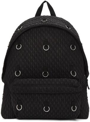 Raf Simons Black Eastpak Edition Padded Loop Quilted Backpack