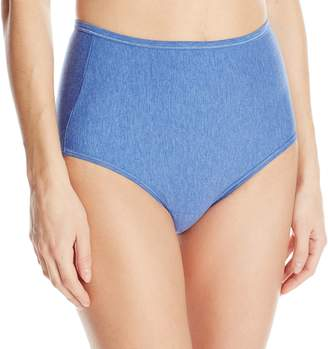 Vanity Fair Women's Illumination Cotton Brief Panty 13316