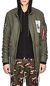 Alpha Industries MEN'S FOOD-A-RAMA COTTON FISHTAIL PARKA-DK. GREEN SIZE S
