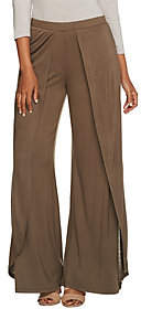 Halston H by Regular Fly Away Jersey Wide LegPants