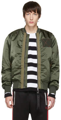 Diesel Green J-West Bomber Jacket