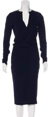 Tom Ford Belted Midi Dress