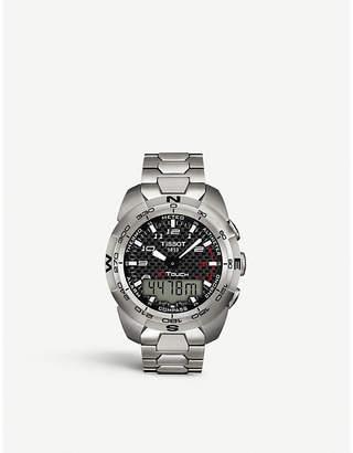 Tissot T013.420.44.202.00 T-touch titanium chronograph watch