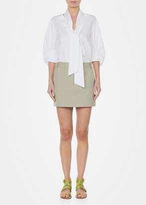 Tibi Margaux Back Pocket Mini Skirt