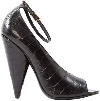 Tom Ford Black Leather Heels
