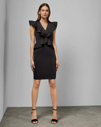 00f695ea255 Peplum Bodycon Dress - ShopStyle