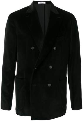 Boglioli velvet double breasted jacket