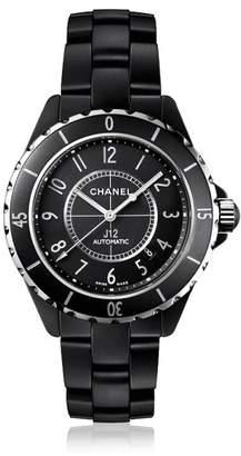 Chanel J12 Black Ceramic Unisex Watch 38mm Automatic