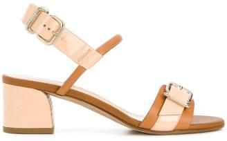 Tod's buckled block-heel sandals