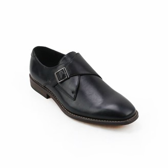 X-Ray Xray XRay Solo Men's Monk Strap Dress Shoes