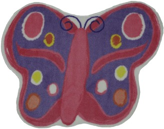 Fun Rugs Fun Time Butterfly Rug