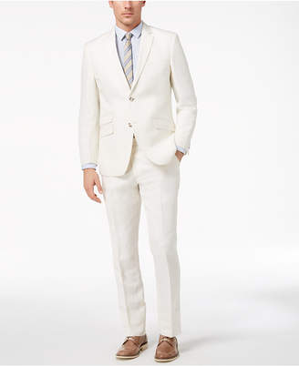 Perry Ellis Men's Slim-Fit Stretch White Suit
