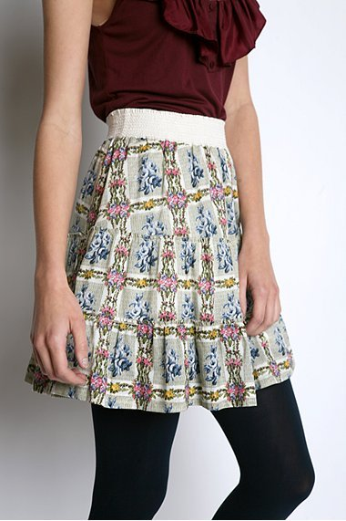 Kimchi Blue Tiered Puritan Skirt