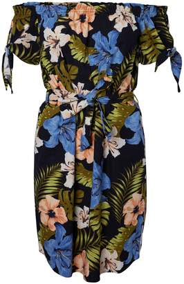 Vero Moda Efie Milo Off-The-Shoulder Floral Dress